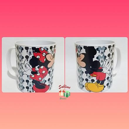 Caneca de Polímero Mickey e Minnie