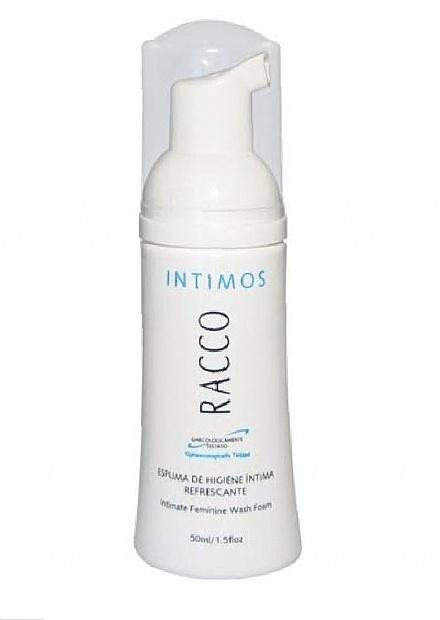 Espuma de Higiene Íntima Refrescante Íntimo Racco,50ml