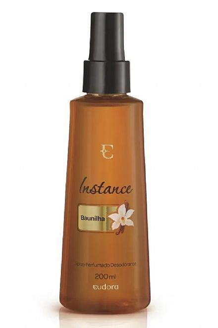 Instance Baunilha Spray Corporal Perfumado Desodorante Colônia,200ml