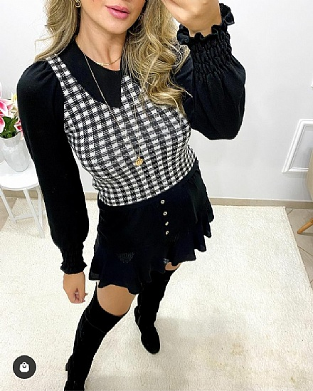 Blusa tricor