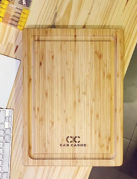 Tábua de Bambu CAB | CARNE