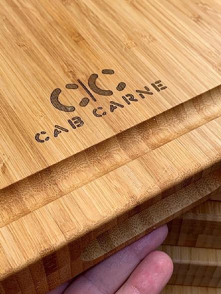 Tábua PERSONALIZADA de Bambu CAB | CARNE