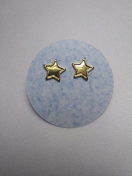 Kit brincos menina laço e estrela