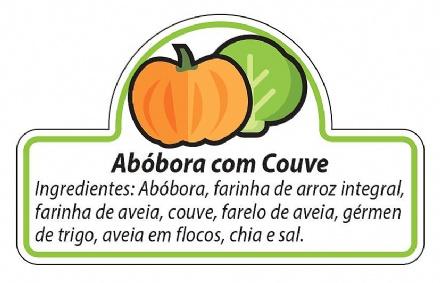 Biscoito Abóbora com Couve (150gr)