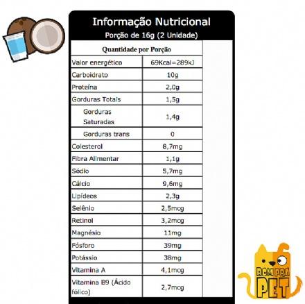 Biscoito Coco com Iogurte (150gr)