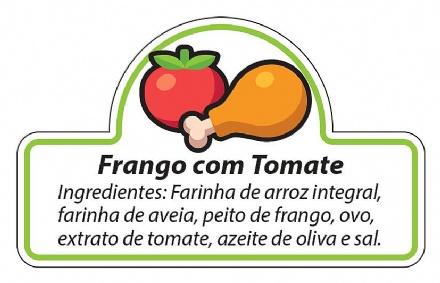 Biscoito Frango com Tomate (150gr)