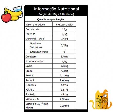 Biscoito Frutas com Iogurte (150gr)