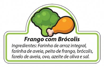 Biscoito Frango com Brócolis (150gr)