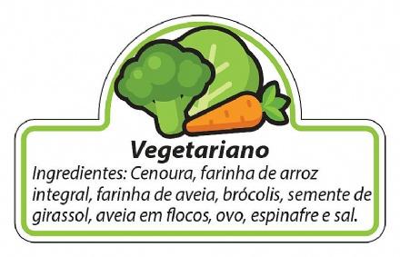 Biscoito Vegetariano (150gr)