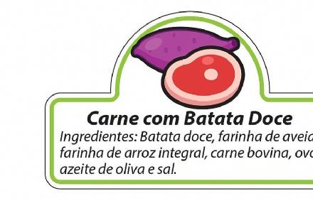 Biscoito Carne com Batata Doce (150gr)