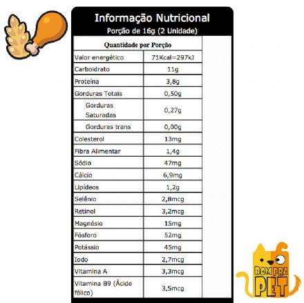 Biscoito Frango com Arroz Integral (150gr)