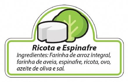 Biscoito Ricota com Espinafre (150gr)