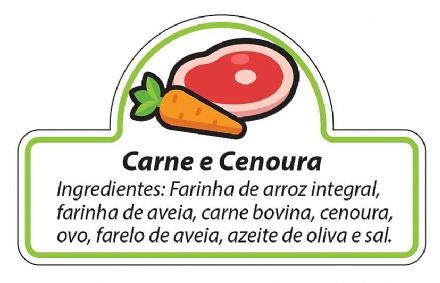 Biscoito Carne com Cenoura (150gr)