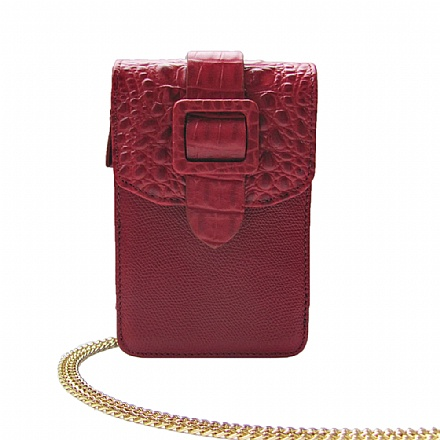 W02 BUCKLE CROCO RED