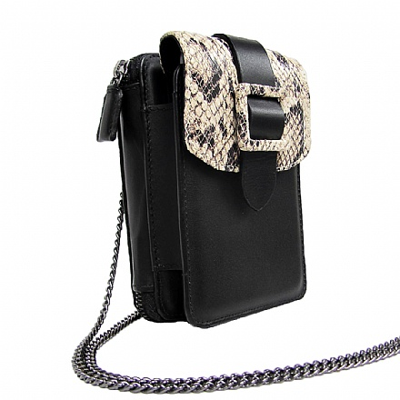 W02 BUCKLE SNAKE NATURAL