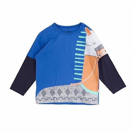 Camiseta Manga Longa Cavalinho