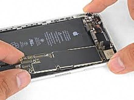 Reparo em placa de iPhone 8