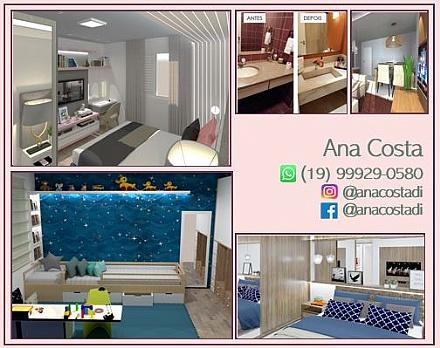 Consultoria online decoração e Design de Interiores