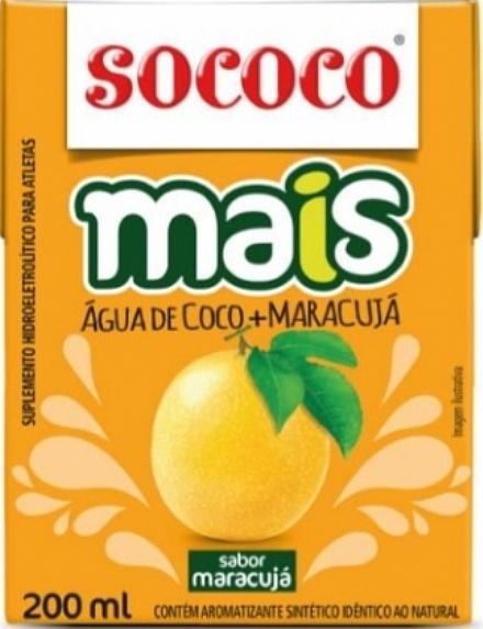 Água de Coco Mais Maracujá (200ml)