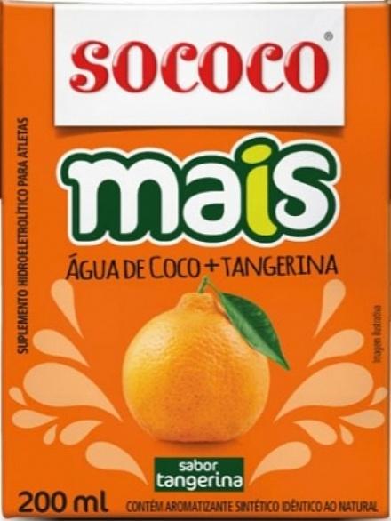 Água de Coco Mais Tangerina (200ml)