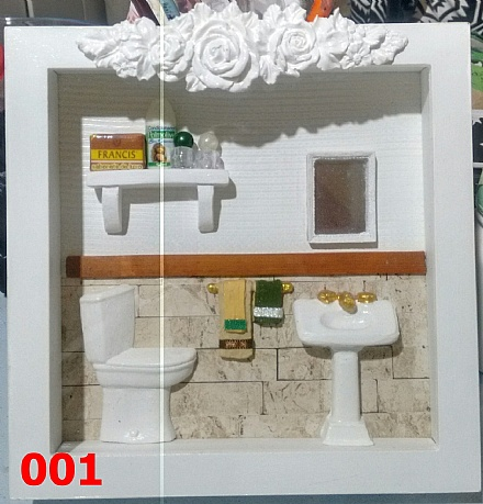 Cenário lavabo