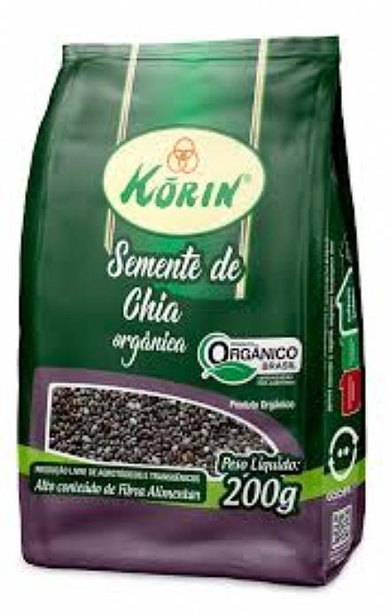 Semente de Chia Orgânica Korin