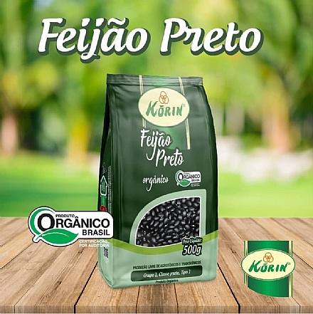 Feijão Preto Orgânico Korin